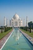 Taj Mahal morning (portrait) Stock Photos