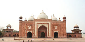 The Taj Mahal Mosque, Agra,India Royalty Free Stock Photos