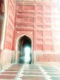 Taj mahal mosque stock photos