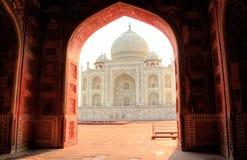 Taj Mahal mosque Royalty Free Stock Photography