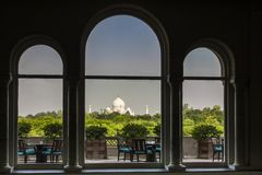 Taj mahal. The most famous landmark of india Royalty Free Stock Image