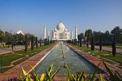 Taj Mahal, Mumtaz Mahal Tomb, Agra, India Royalty Free Stock Photo