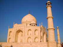 Taj Mahal no por do sol Foto de Stock Royalty Free
