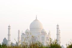 Taj Mahal no por do sol Imagens de Stock