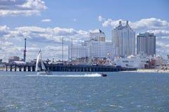 Taj Mahal och semesterortkasino i Atlantic City Royaltyfria Foton