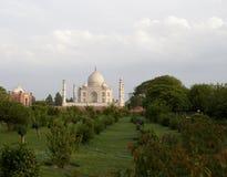 Taj Mahal od strony przeciwnej rzeka Zdjęcie Stock