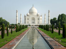 Taj Mahal, One of World Wonders, Agra, India Royalty Free Stock Images