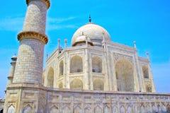 Taj Mahal-oriëntatiepunt in India Stock Afbeelding