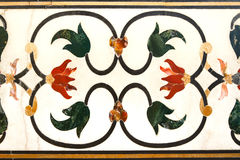 Taj Mahal Ornament Fotos de archivo libres de regalías