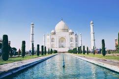 Taj Mahal på Agra!! Royaltyfria Bilder