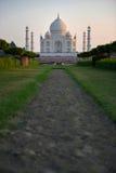 Taj Mahal på solnedgången, Indien Royaltyfri Bild