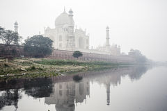 Taj Mahal Palace in Agra Stock Photo