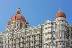 Taj Mahal Palace - hotel Stock Images