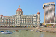 Taj Mahal Palace - hotel Stock Photo
