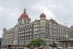 Taj Mahal Palace Hotel in Mumbai Fotografia Stock Libera da Diritti