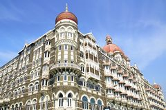 The Taj Mahal Palace Hotel Royalty Free Stock Image
