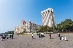 Taj Mahal Palace Hotel Stock Photos