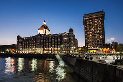 Taj Mahal Palace Hotel Royalty Free Stock Photography