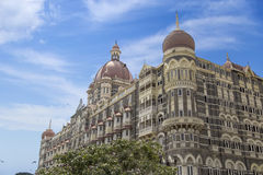 Taj Mahal Palace Hotel in Mumbai, India. This five star hotel was opened at 1903 and have 560 rooms and 44 suites Stock Photo