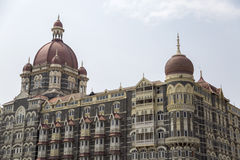 Taj Mahal Palace Hotel in Mumbai, India. This five star hotel was opened at 1903 and have 560 rooms and 44 suites Royalty Free Stock Photos