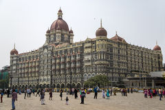Taj Mahal Palace Hotel in Mumbai, India Royalty Free Stock Photos