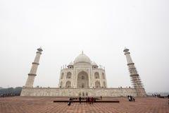 Taj Mahal Palace i Agra Arkivfoton