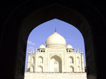 Taj Mahal palace - India. The magnificient Taj Mahal. Located in Agra India Royalty Free Stock Photo