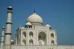 Taj Mahal palace. In India Royalty Free Stock Photo