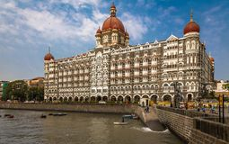 Taj Mahal Palace, Mumbai royalty-vrije stock foto's