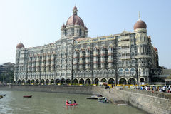 Taj Mahal Palace in Mumbai Royalty Free Stock Image