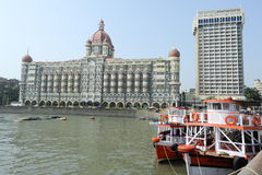 Taj Mahal Palace in Mumbai Stock Images