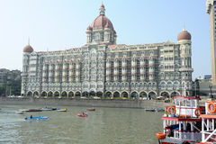 Taj Mahal Palace in Mumbai Royalty Free Stock Photo