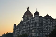 Taj Mahal Palace in Mumbai, India Royalty Free Stock Photo
