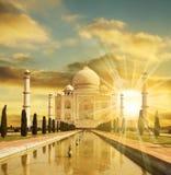 Taj Mahal Palast stockbilder