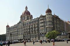 Taj Mahal Palast u. Kontrollturm-Hotel in Mumbai Stockfotos