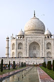 Taj Mahal Panorama Royalty Free Stock Photo