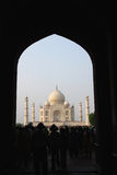 Taj Mahal Panorama at agra,Uttar Pradesh,india Royalty Free Stock Image
