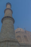 Taj Mahal pillar. One of the 4 main pillars surrounding the Taj Mahal tomb Royalty Free Stock Photography