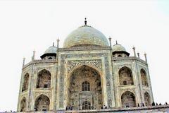 Taj Mahal przy Agra Idia Zdjęcia Royalty Free