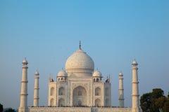Taj Mahal przy półmrokiem Fotografia Royalty Free