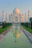 Taj Mahal przy świtem, India Zdjęcie Royalty Free