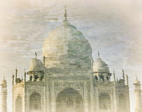 Taj Mahal reflection in water Royalty Free Stock Photo