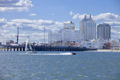 Taj Mahal and Resort Casino in Atlantic City Royalty Free Stock Photos