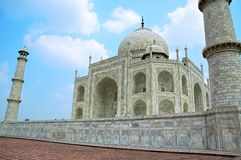 Taj Mahal - Side View Royalty Free Stock Photography