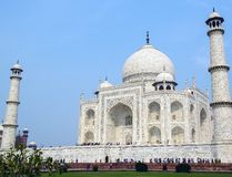 Taj Mahal side view, Agra, India Stock Photos