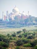 Taj Mahal on Smoggy Day Stock Image