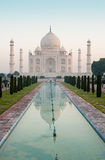 Taj Mahal at sunrise 1 (portrait) Stock Image