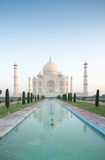 Taj Mahal at sunrise 2 (portrait) Stock Image