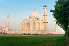 Taj Mahal at sunrise, Agra, Uttar Pradesh, India. Stock Image
