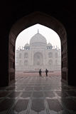Taj Mahal at sunrise, Agra, Uttar Pradesh, India. Royalty Free Stock Photos